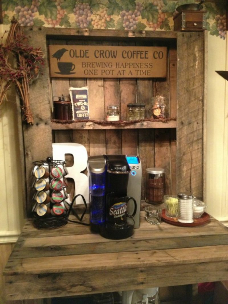 Old Crow Coffee Station